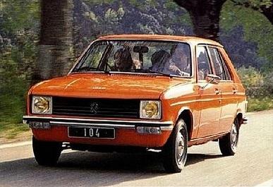 Ma voiture n 1 la peugeot 104 1980 1981 jyg web - Ma voiture ne demarre pas du premier coup ...